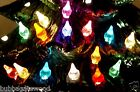 100  / 200  color choice CERAMIC CHRISTMAS TREE star LIGHT Twinkle vintage bulb image