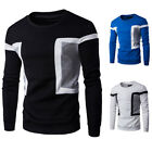 Mens Shirt long Sleeve Top Long sports wear Cotton Fleece Lined T-Shirt Blouse