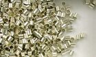 925 Sterling Silver 3x3 Seamless Crimp Tube Beads, Choice of Lot Size & Price