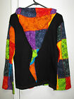 LADIES PIXIE HOOD LIGHT WEIGHT NEPALESE HOODIE HIPPY DOOF PSY SIZES S, M, L & XL