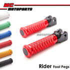 M-Grip CNC Front Foot Pegs For Kawasaki ER-6F 05-07 08 09 10 11