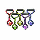 Multipet Nut for Knots Ropes Tug with Tennis Ball Dog Toy