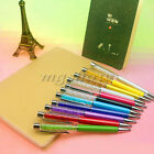 1/2X Amazing Ballpoint Pouch Pen Filled with Crystal Element Wedding Party Gift