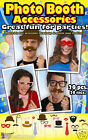 Photo Booth Accessory Pack Party Pack Photo Prop Pack Make Funny Photos 73110