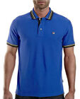Fila Matcho Vintage Retro Polo Shirt - Blue - CLEARANCE