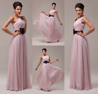 LONG Evening Formal Party Gown Chiffon Wedding Cocktail Prom Bridesmaid DRESSES
