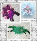 Silky n' Satin Clothes & HAIR ACCESSORIES w/ Style, Feathers, Ribbon, & Beads