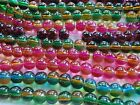 QUALITY ROUND GLASS BEADS - TWO TONED - 6 mm - #R2T
