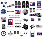 New NFL New York Giants Pick Your Gear / Car Truck Accessories Official Licensed