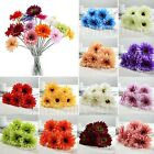 Hot Artificial Colorful Flower Gerbera Wedding Bouquet Party Home Office Decor