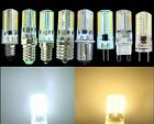 10/5/1ps E11/E14/E12/E17/BA15d/G4/G9/G8 110V/220V 3W 64SMD LED Silicone Dimmable