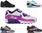 SALE BOYS GIRLS NIKE AIR MAX 90 GS LEATHER MESH LADIES TRAINERS UK 3 - 6