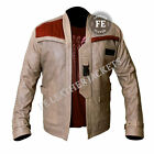 Star Wars John Boyega Finn Men's Leather Designer Jacket Special Gift for Him £64.99 GBP