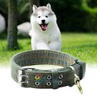 Adjustable Safety Double-Breasted Pet Dog Cat Puppy Collar Buckle Neck Strap A