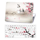 Matched Painting Hard Mac Rubberized Case+Soft Keybaord Cover for Macbook Laptop