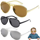 Внешний вид - Funny Bro Swag Baby Toddler Boys TOP GUN GOLD AVIATOR SUNGLASSES AGES 0 - 3 Year