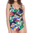Fantasie Swimwear Cayman Underwired Twist Front Swimsuit Multi 6187 NEW