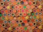 """""""Mini Prints"""" Pencil Ends 100% Cotton Fabric Multi Use Curtain Blinds Quilting"""