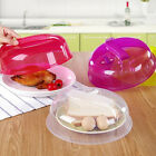 26*10cm Home Kitchen Microwave Food Proof Lid Steam Vent Splash Plate Dish Cover