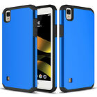For LG X Style/Tribute HD Case Shockproof Hybrid Rubber Hard Armor Back Cover фото