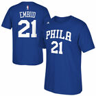 Philadelphia 76Ers Adidas Men's Adidas Net Number  T-Shirt - Royal
