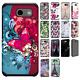For Samsung Galaxy J3 Emerge HARD Astronoot Hybrid Rubber Silicone Case Cover
