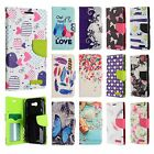 For Samsung Galaxy J3 Emerge Premium Leather Wallet Case Pouch Flip Phone Cover