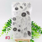 Craft Scrapbooking Silicone Rubber Transparent Stamp Flower Christmas Tree