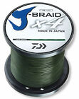 Daiwa X4 J-Braid Dark Green 3000yds