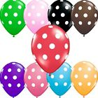 Easter kids Decoration Photo birthday Polka Dot Party Supply Balloons Bulk 12""