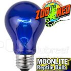 MoonLite Blue Incandescent Reptile Terrarium Bulb Zoo Med 40 60 or 100 Watt