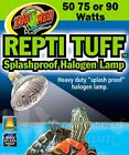 Repti Tuff Turtle SplashProof Halogen Lamp Bulb 50W, 75W or 90W Lamp Zoo Med