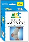 Elastic Ankle Sleeve - White, Available Sizes: S-M-L-XL (3175)