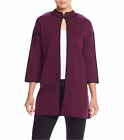 KASPER® M One Button Long Cardigan Sweater NWT $79