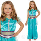 GIRLS ARABIAN PRINCESS FANCY DRESS COSTUME BOLLYWOOD FAIRY TALE CHILDS JASMINE
