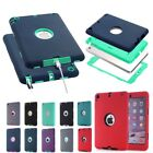 lot gift Heavy Duty Military Shockproof Hard Case Cover For iPad 2/3/4/ Mini Air