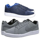 Mens Nike Court Royale Plus Smart Blue Grey Casual Lace Up Trainers Size 6-11 UK