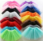 Xmas Sale 3 Layers Ladies Girls Tutu Skirt Fancy Dress Up Hen Party 15 Colors
