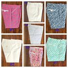 NWT Peter Millar E4 Wicking Women 3/4 Pants Performance GOLF Size 0 2 4 6 8 10