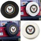 United States Navy Exact Fit Black or White Vinyl Spare Tire Cover
