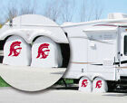 USC Trojans Exact Fit Size White Vinyl Tire Shade Cover