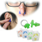 Diving Swimming Ear Plugs And Nose Clip Set With Box For Kids Adults Candy