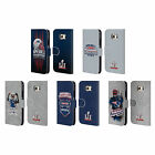 OFFICIAL NFL 2017 SUPER BOWL LI CHAMPION LEATHER BOOK CASE FOR SAMSUNG PHONES 1