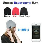 Bluetooth Wireless Kopfhörer Warm Beanie Mütze Hut Music Smart StrickMüte Cap