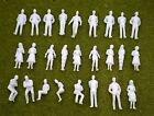 1:50 Scale Unpainted Architecture White Model Figures - Pack of 10/25/50/100
