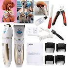 Professional Mute Pet Cat Dog Hair Cordless Clipper /Trimmer /Shaver Accessory Kit