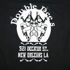 NEW DOUBLE DEES NEW ORLEANS STRIP CLUB DIVE BAR PIN UP GIRL Mens TEE T SHIRT
