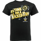 Boston Bruins NHL It's Time for a Wicked Run T-Shirt Stanley Cup Playoffs XL Bs