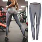 Women's Yoga Sports Running Pants Leggings Stretchy Fitness Trousers Gym Pants