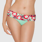 Curvy Kate Aloha Fold Over Bikini Brief Seafoam CS3025 NEW Select Size